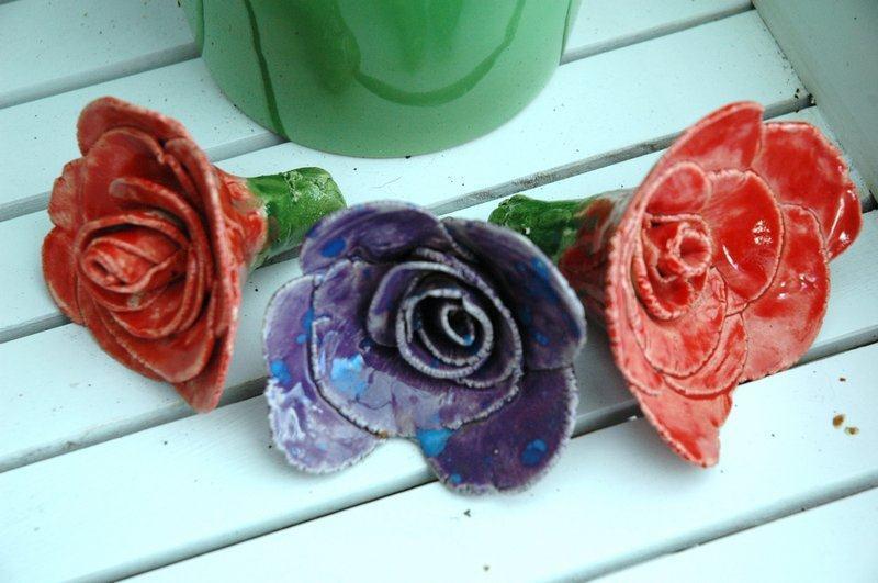 Bloemen van keramiek - De Pottenbakkerij