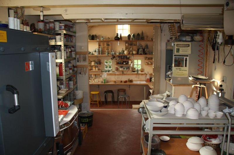 Interieur pottenbakkerij